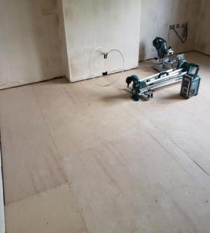 Residential multi-flat conversion progress 2