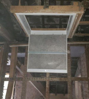 Residential multi-flat conversion progress 3