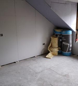 Residential multi-flat conversion progress 5