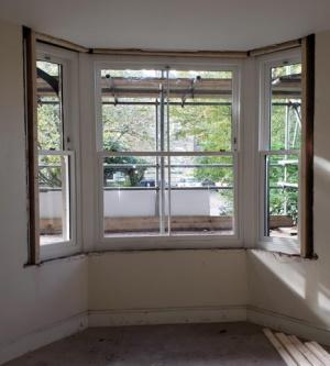 Residential multi-flat conversion progress 8