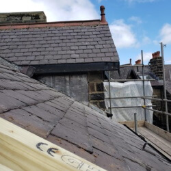 Residential multi-flat conversion roof 3
